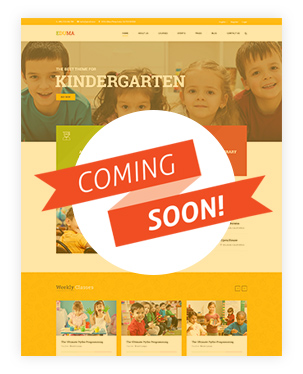Kindergarten WordPress Theme - Education WP