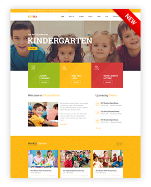 Kindergarten WordPress Theme - Education WP