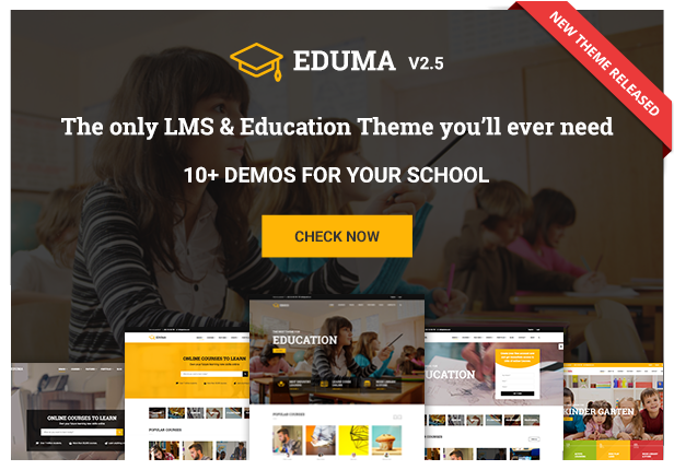 Education WP - LMS WordPress Theme