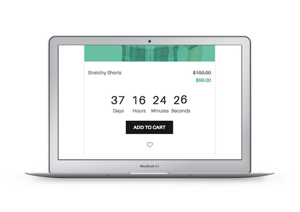 WooCommerce Sales Countdown - Producto