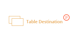 Table destination for Pipes