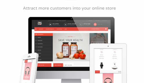 ZONESHOP – WONDERFUL RESPONSIVE WOOCOMMERCE WP