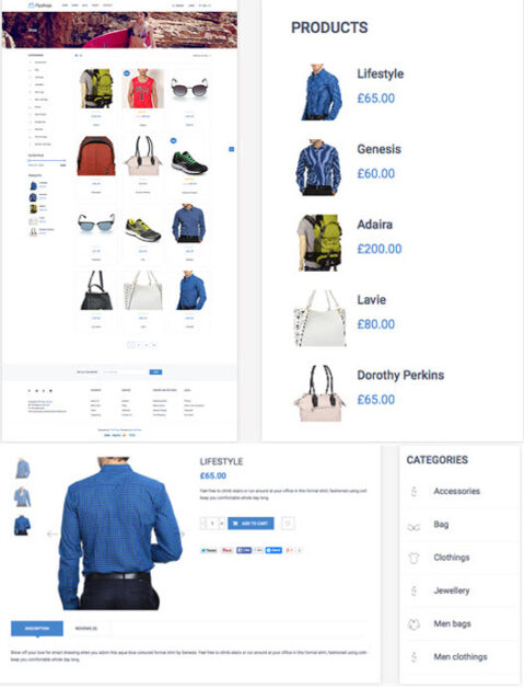 Flyshop- Fashion Store WooCommerce WP