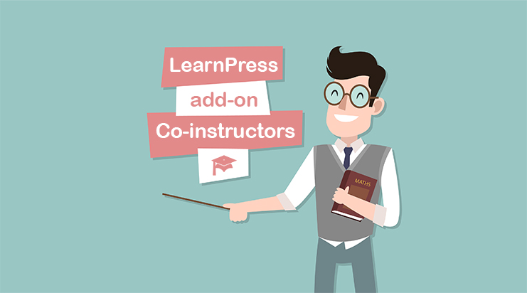 Co-instructors add-on for LearnPress