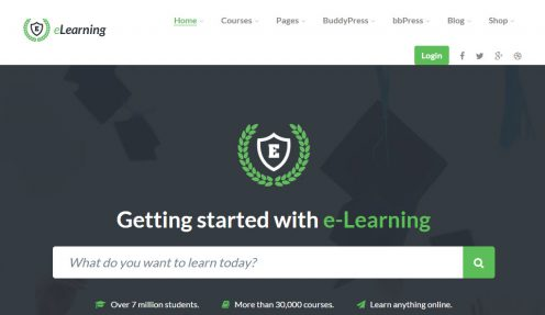 LMS WordPress Theme – eLearning WP