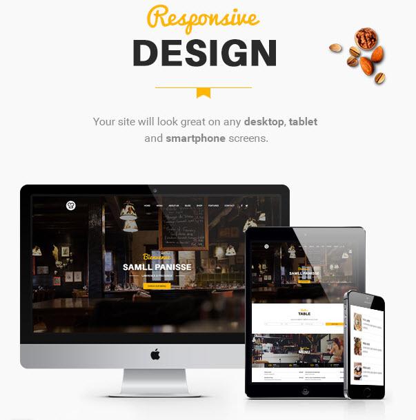 Mobile-Friendly WordPress Theme for Restaurant - Resca