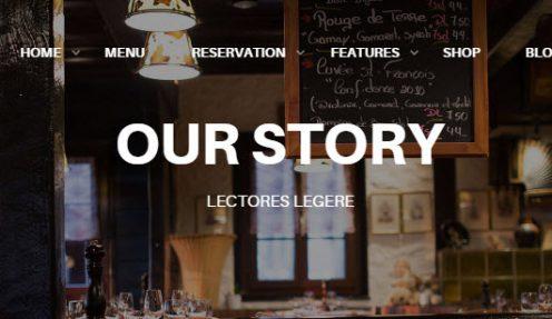WordPress Restaurant Theme for Restaurant website–Resca