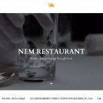 WordPress Restaurant Theme – NEM