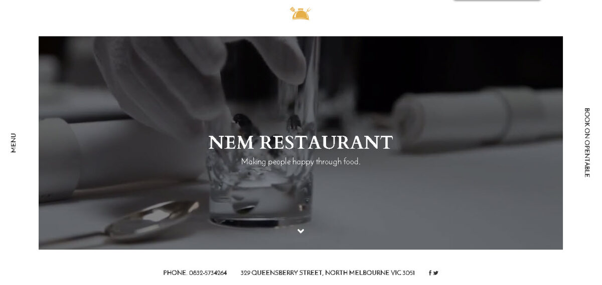 wordpress restaurant theme NEM_featured