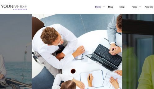 Business WordPress Theme – Youniverse