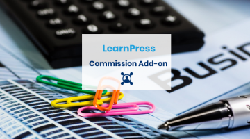 Commission add-on for LearnPress