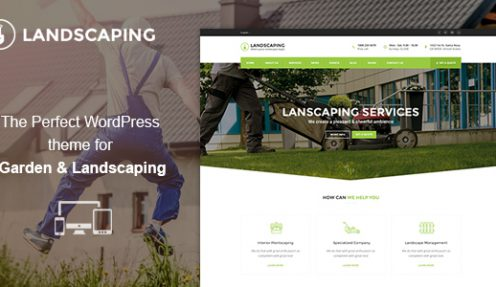 Awesome Gardening & Landscaping WordPress Theme Reviews