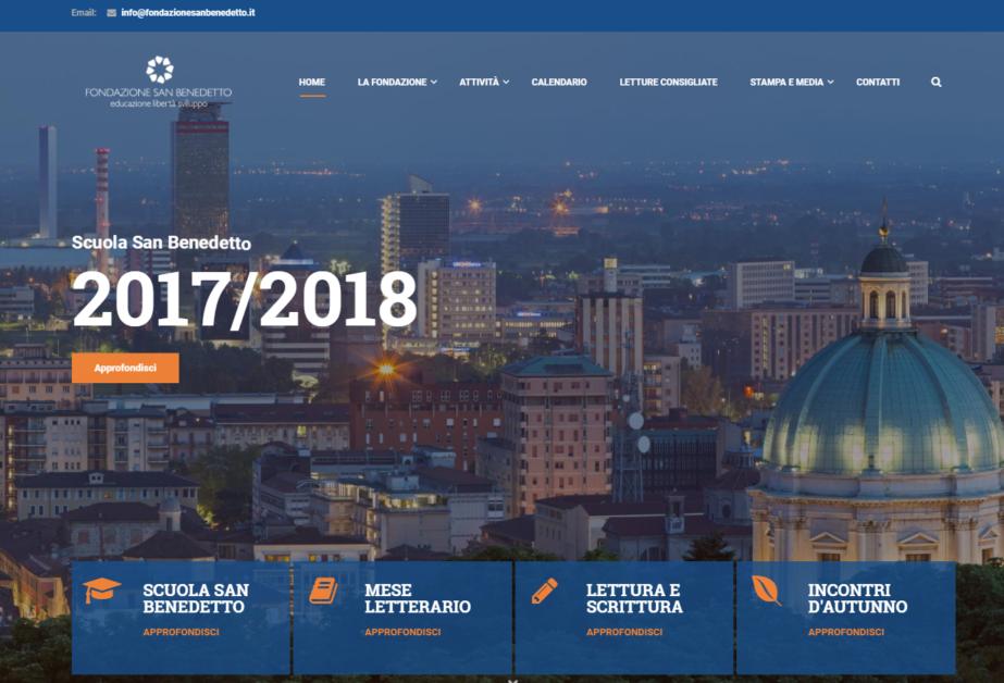 Fondazione San Benedetto – Educazione, libertà e sviluppo