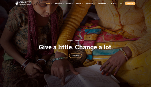 Best WordPress Themes For Non-profit, Fundraising and Charity Organizations