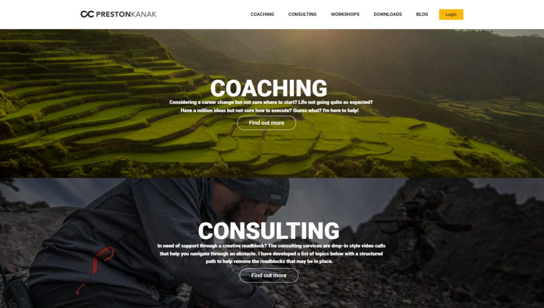Preston Kanak Online courses & Training platform