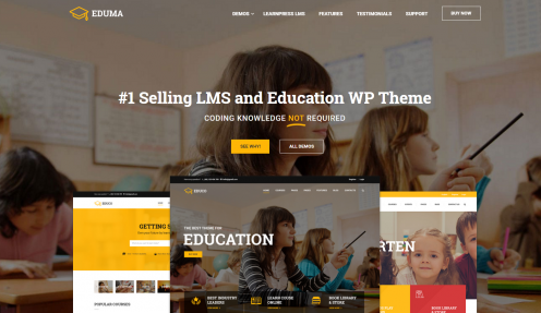 Education WordPress Theme for eLearning – Education WP