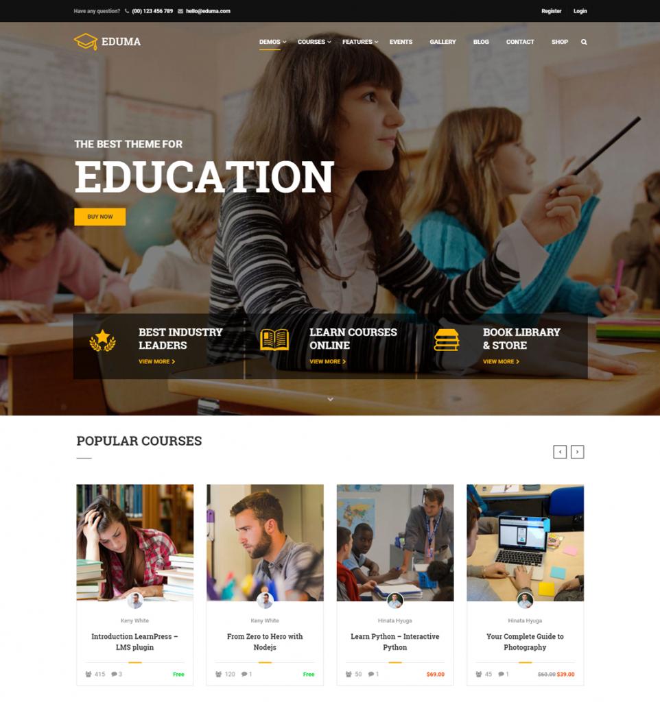 Education WordPress Theme – Education WP