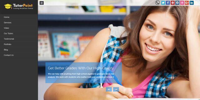 tutor-point-Education-WordPress Themes