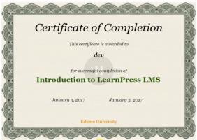 certificate add-on
