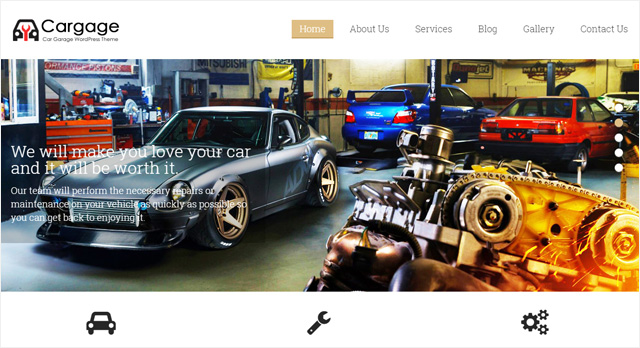 cargage- Best Automotive WordPress Themes
