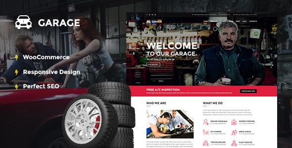 garage-car- Best Automotive WordPress Themes