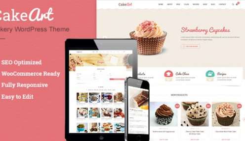HOW TO BOOST YOUR CAKES' SALES WITH CAKE WORDPRESS THEME – CAKE ART WP
