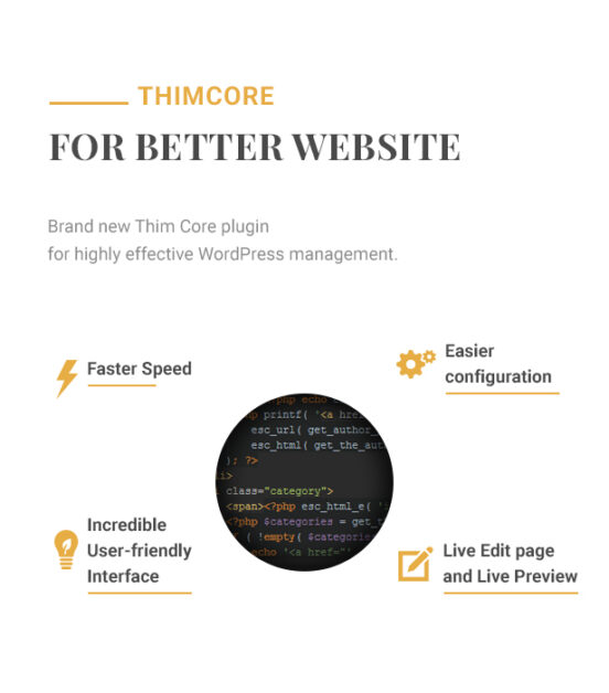 Hotel WordPress theme - Thim Core