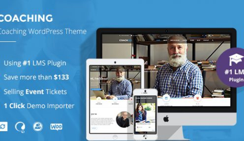 Speaker and Life Coach WordPress Theme | Coaching WP – The best reward for your coaching site
