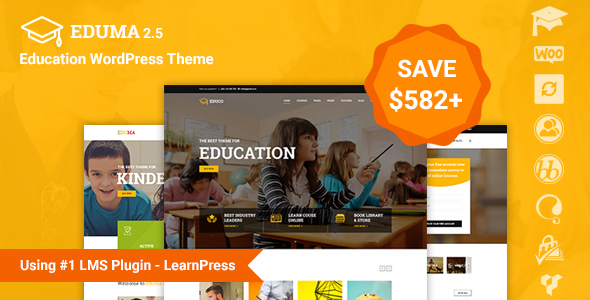 Best-WP-theme-for-teachers-Instructors-education-preview