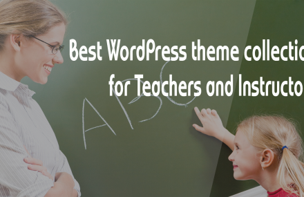 Best WP Theme Collection for Teachers and Instructors
