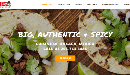 10+ best restaurant website designs powered by WordPress Restaurant theme Resca