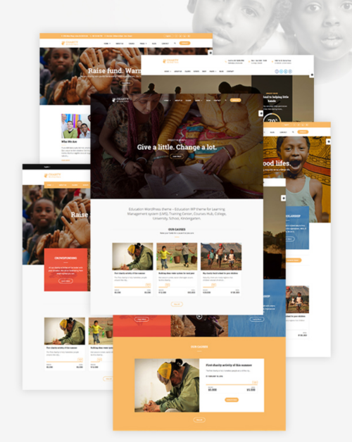 charity-wp-demo-homepages