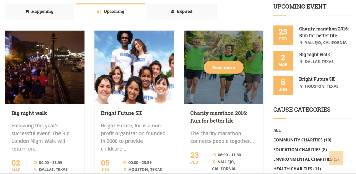 charity-wp-event-management