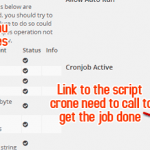 Schedule your auto posting pipes with cron job