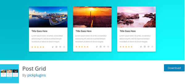 Post Grid WordPress Plugin