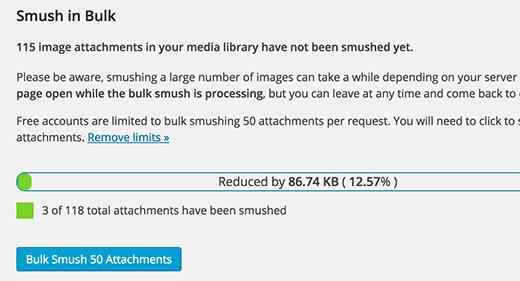 Smush in bulk