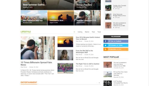 Mag WP | Magazine Newspaper Blog WordPress Theme