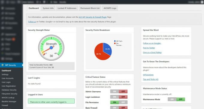 7 WordPress Security Plugins To Enhance The Security of Your Website