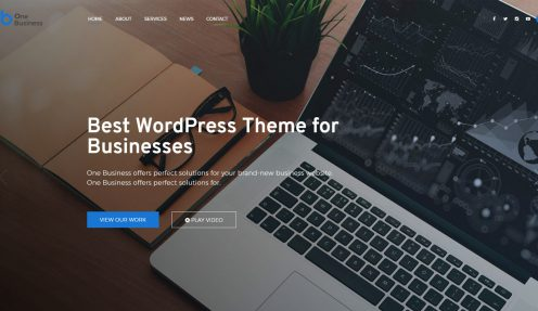 11 Best Professional Corporate WordPress Themes 2018