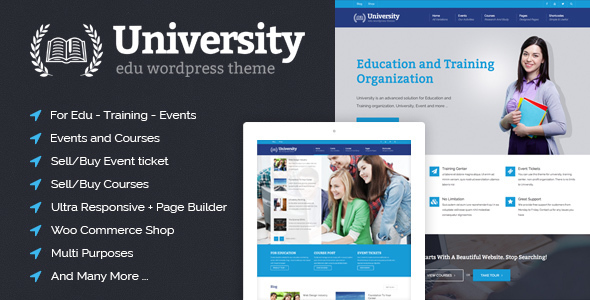 LMS-WordPress-theme-University