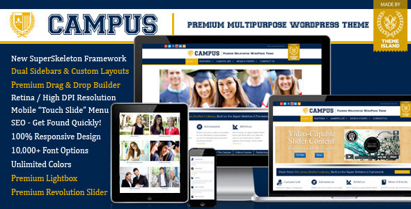 LMS-WordPress-theme-campus