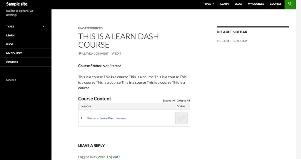 LMS plugin - learndash
