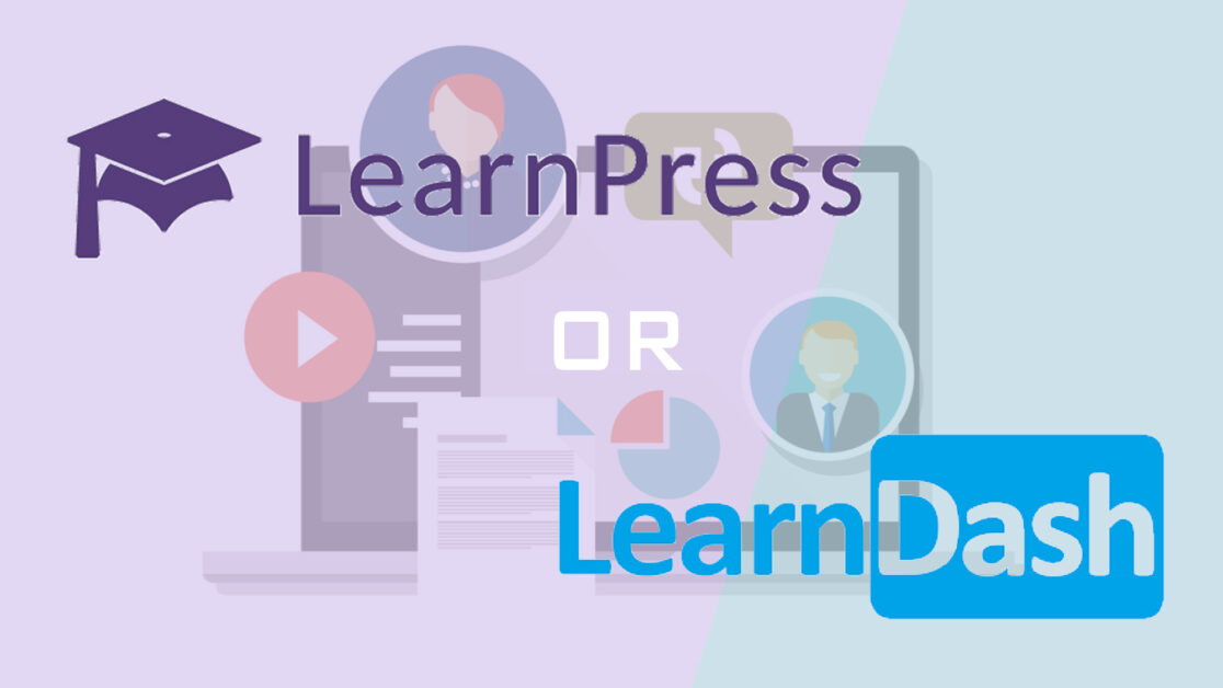LearnPress vs. LearnDash - featured image
