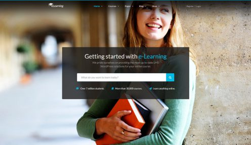 WordPress LMS: Creating online course website with eLearning WP theme