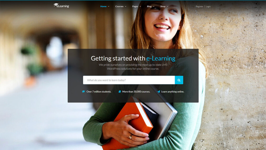 Wordpress Lms 2017 Creating Online Course Website With Elearning Wp