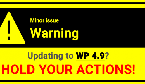 Thinking of updating your WordPress version? Hold your action!