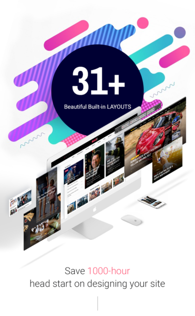 31 magazine layouts magazette - magazine & blog wordpress theme (news / editorial) Magazette – Magazine & Blog WordPress Theme (News / Editorial) 2 31 layouts