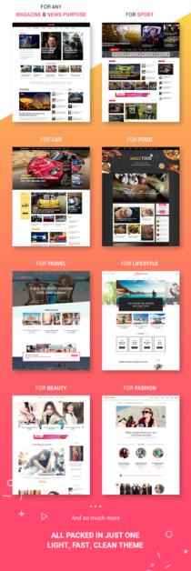 8 demos magazette - magazine & blog wordpress theme (news / editorial) Magazette – Magazine & Blog WordPress Theme (News / Editorial) 3 8 wordpress magazine demos