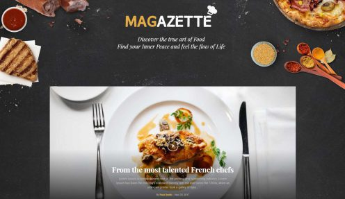 10 Most Awesome WordPress themes for Food category