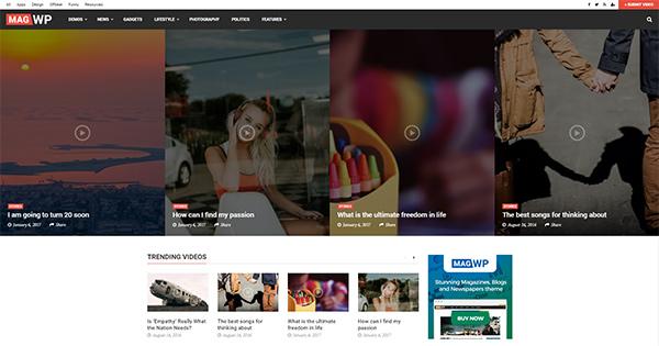 MagWP WordPress Blog Theme